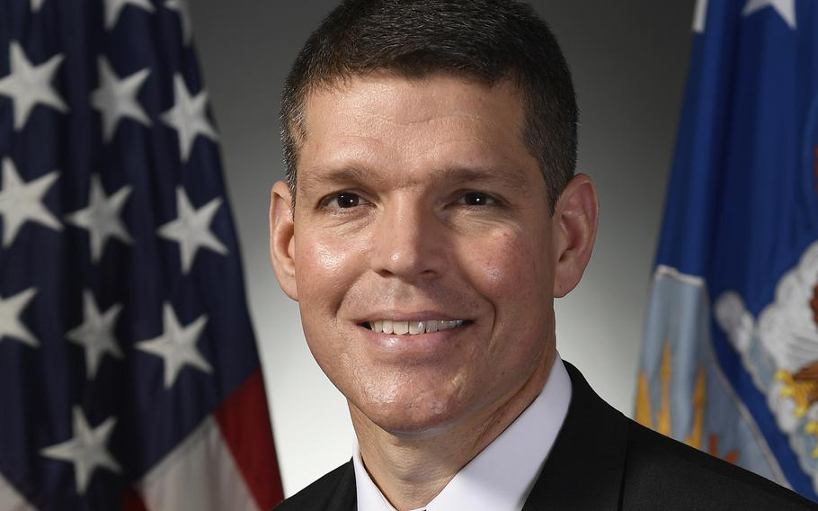 John W. Henderson, Assistant Secretary of the Air Force for Installations, Environment and Energy.