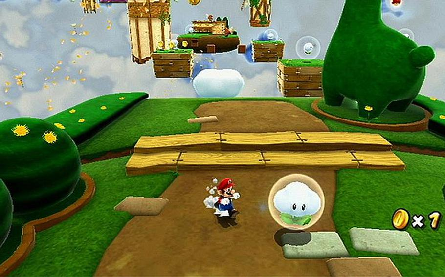"""Mario faces plenty of interesting challenges in """"Super Mario Galaxy 2"""" for the Wii."""