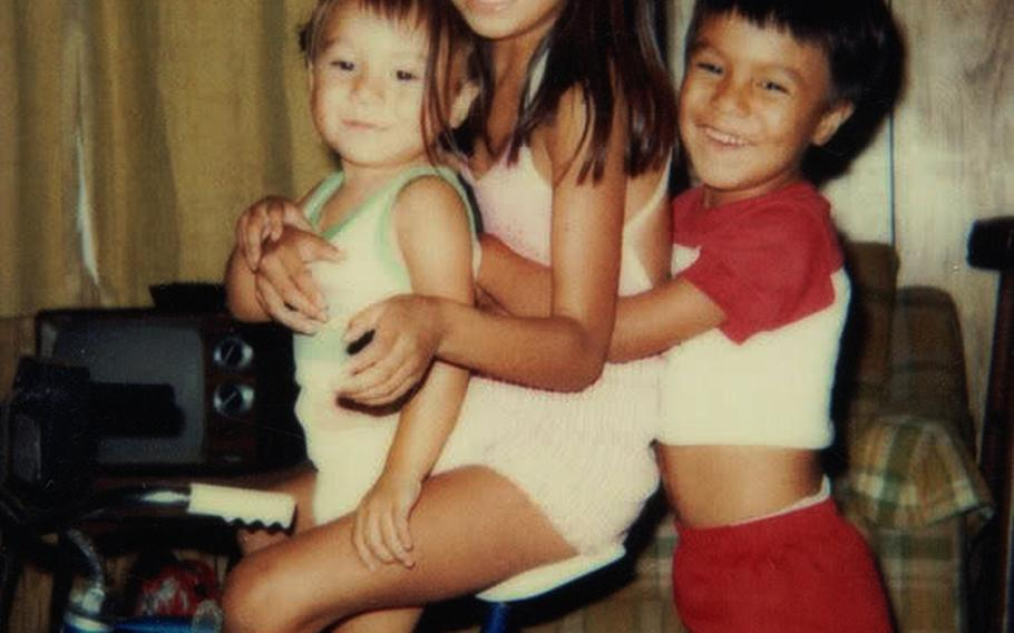 A 5-year-old  Monica Velez with her two little brothers, Andrew, left, and Jose. Both Velez brothers joined the Army, and Jose was killed in 2004 in Fallujah. Andrew took his own life  while deployed to Afghanistan in 2006. Monica says Jose's death undoubtedly played a part in Andrew's suicide. Adding to her grief, the Lubbock Area Veterans Memorial in Texas refused to put Andrew's name on a memorial wall, claiming that it is only for those who died in combat. Monica Velez struggles to see the difference between her brother's deaths. Both died in uniform.