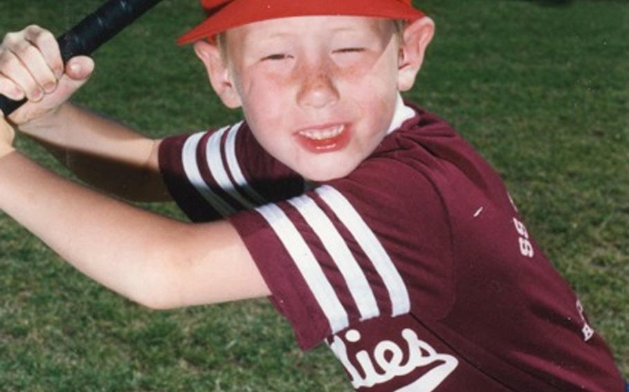 Jonathan played baseball in grade school.