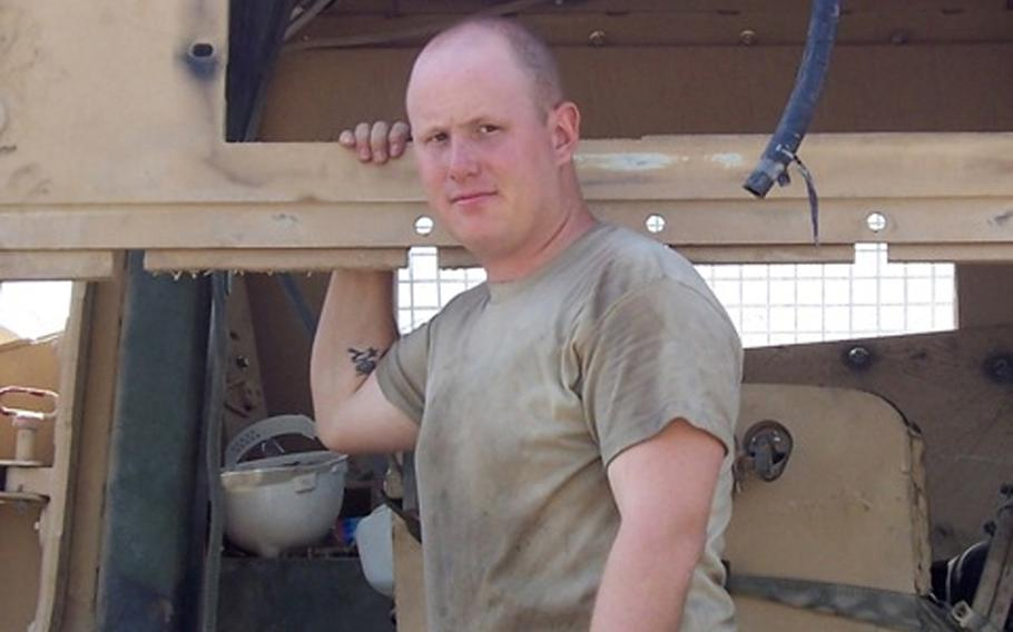 Jonathan deployed to Afghanistan in the spring of 2008.