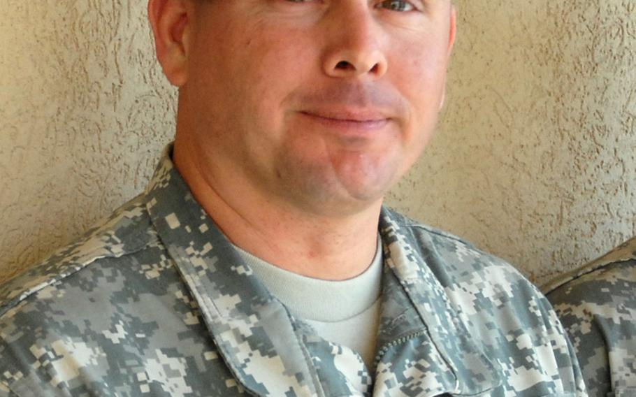 Staff Sgt. Scott Wozna, Jonathan Hughey's platoon leader, says Jonathan's suicide is always in the back of his mind and that he looks harder at his soldiers now for signs that they're struggling.