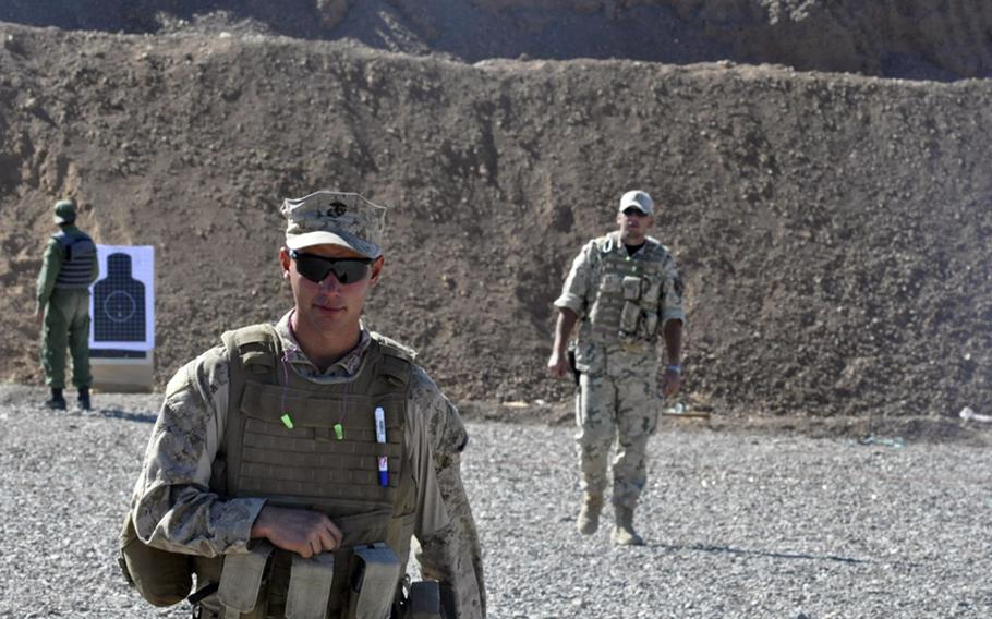 Marine Lance Cpl. John White, 20, deployed to Helmand province late last year with Weapons Company, 2nd Battalion, 2nd Marine Regiment. He returned to the States in May and almost immediately volunteered to come back. Four months after leaving, he returned, this time as an Afghan police trainer in Herat province.