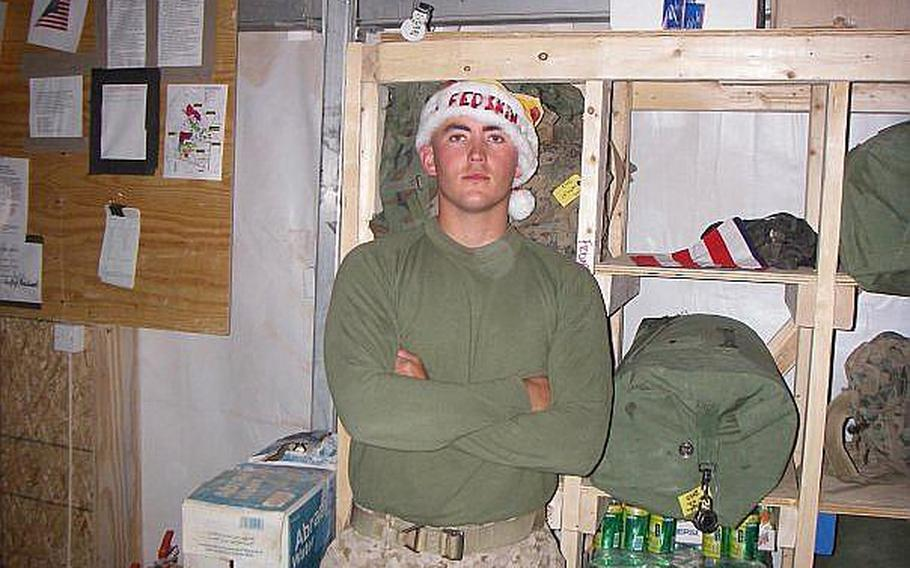 Marine reservist Sgt. David Smith was critically wounded in a suicide attack in Afghanistan's Helmand province on Jan. 23, 2010. After Smith was declared brain dead at Landstuhl Regional Medical Center in Germany, several of his organs, including his heart, were donated to gravely ill recipients in Europe.