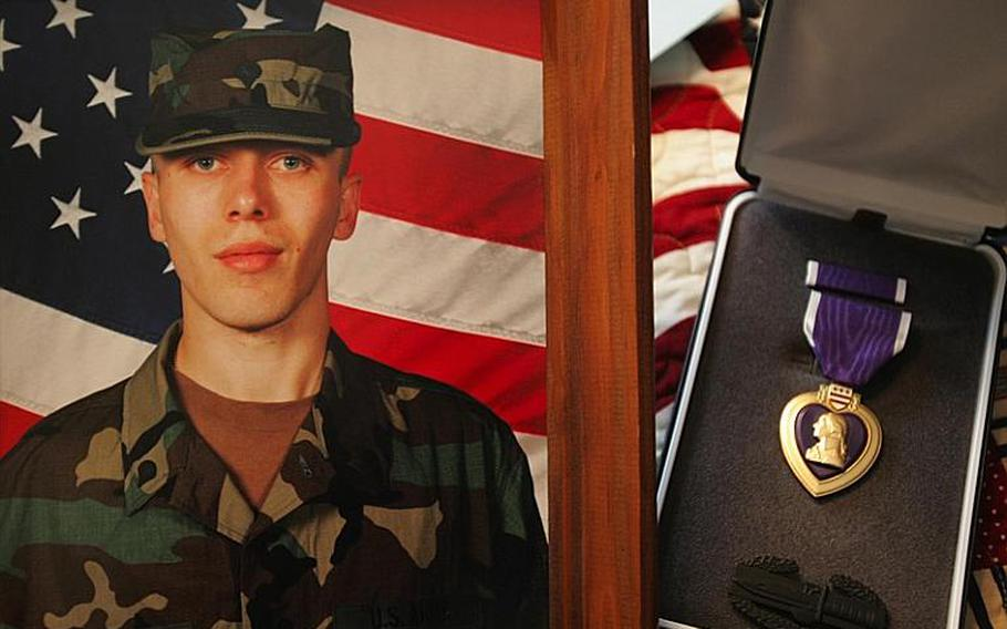 Undated but recent family photo of Sgt. Jeremy Barnett, of Mineral City, Ohio, who died on Feb. 24, 2007, of injuries suffered while serving in Iraq. Barnett, 27, was wounded on Feb. 21 when a land mine exploded, his family said.