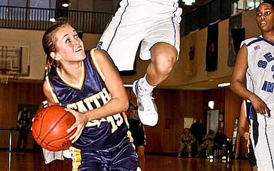 Whether leaping to unthinkable heights to make a soccer save, a basketball bucket or a volleyball spike, Seoul American's Liz Gleaves' athleticism was the talk of Pacific high school sports in 2010.
