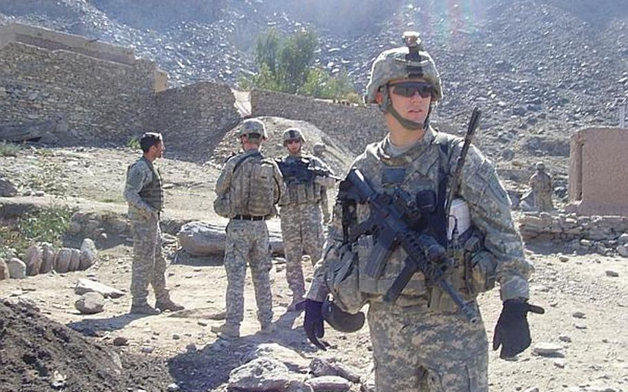 David Kaefring, who was 13 on Sept. 11, 2001, was awarded a Bronze Star as a corporal for his service as an artillery forward observer in Afghanistan from 2008 to 2009.