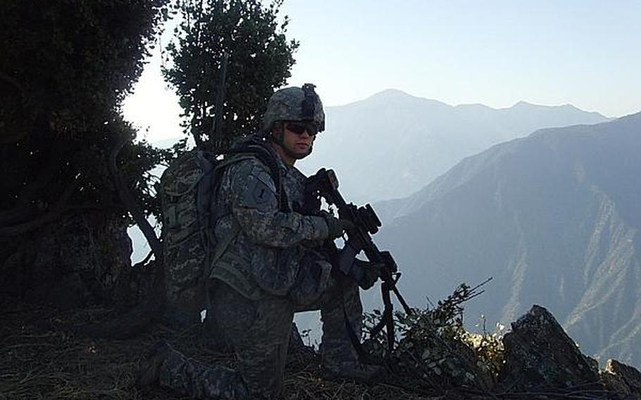 David Kaefring, who was 13 on September 11, 2001, was awarded a Bronze Star as a corporal for his service as an artillery forward observer in Afghanistan from 2008 to 2009.