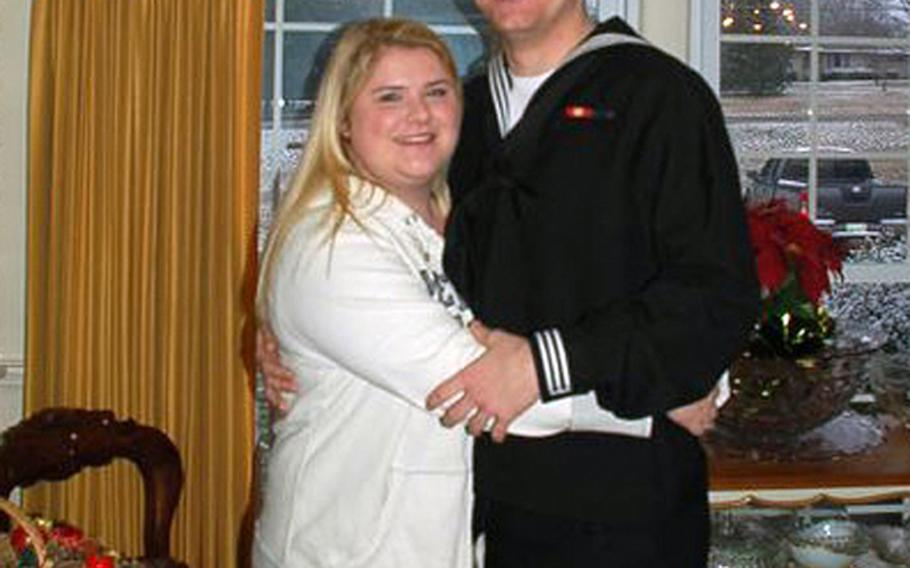 Seaman Recruit Curtis Phillips and his wife Ashley Payne have been together for just shy of four years, yet Payne is not allowed to live with her husband in Japan as ordered by Commander, U.S. Naval Forces, Japan in a directive that does not provide command sponsorship for the spouses of lower ranking ? and usually younger - enlisted sailors. The distance has caused strain on their young marriage. Other branches of service in the theater do not have to abide by such an order.