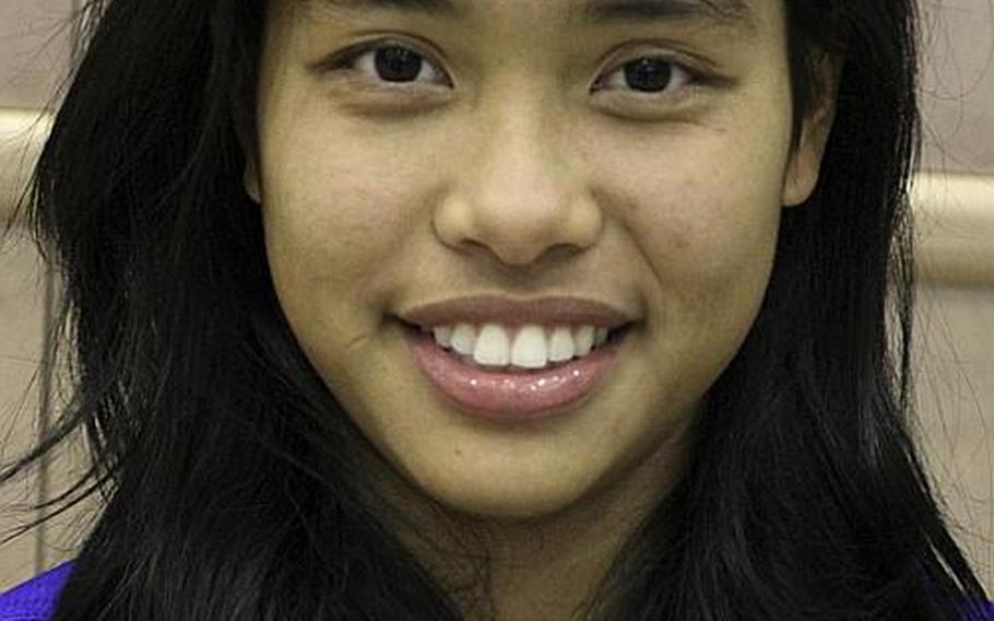 Yokota Panthers senior guard Erika Ettl has been named Stars and Stripes girls Athlete of the Week for Nov. 27-Dec. 3.