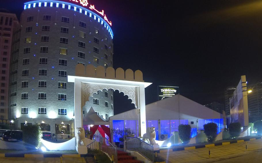 The Al Safir Hotel in Juffair is a recommended spot for an Iftar dinner. Here you will find a more traditional experience. The Al Safir Hotel has a Ramadan tent set up outside, but it's mainly used for group reservations of 50 or more people.  For everyone else, Iftar is served inside the hotel restaurant and costs 7.5 BHD.