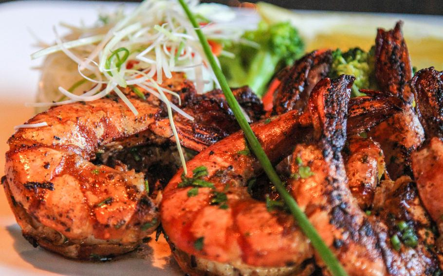 Steak isn't the only thing on the menu at The Meat Co in Bahrain. The restaurant also offers seafood, chicken, and a couple of vegetarian options.