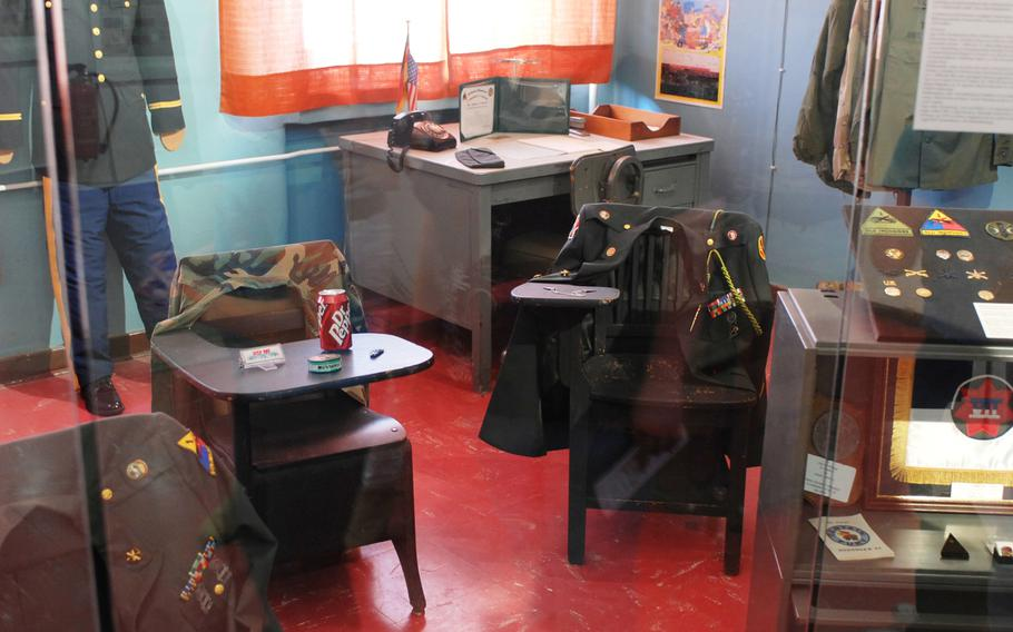 A U.S. Army commander's office is preserved at Germany's Stadtmuseum Schwabach. The museum's main building was once home to the U.S. Army's O'Brien Barracks.