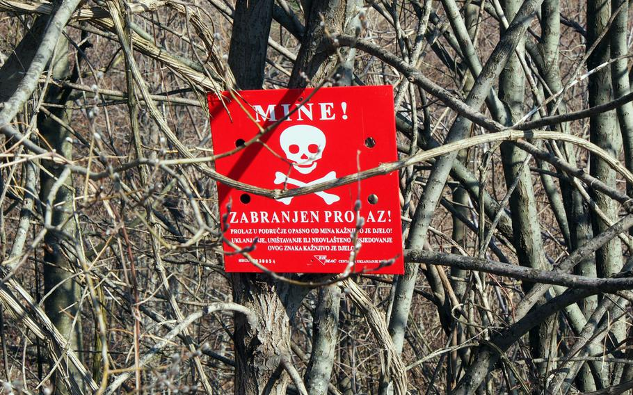 Land mines still blight much of the landscape off the roads to Sarajevo's two ski resorts, Jahorina and Bjelasnica. Both resorts served as key military strongholds during the devastating Bosnian War in the 1990s.