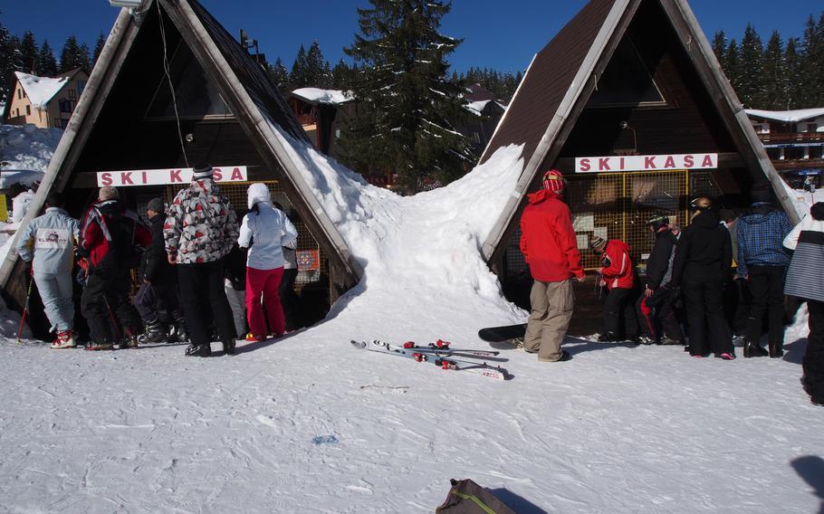 Bjelasnica ski resort, near Sarajevo, Bosnia-Herzegovina. After the war-wracked 1990s, Sarajevo's ski resorts have emerged as a great budget ski destination.