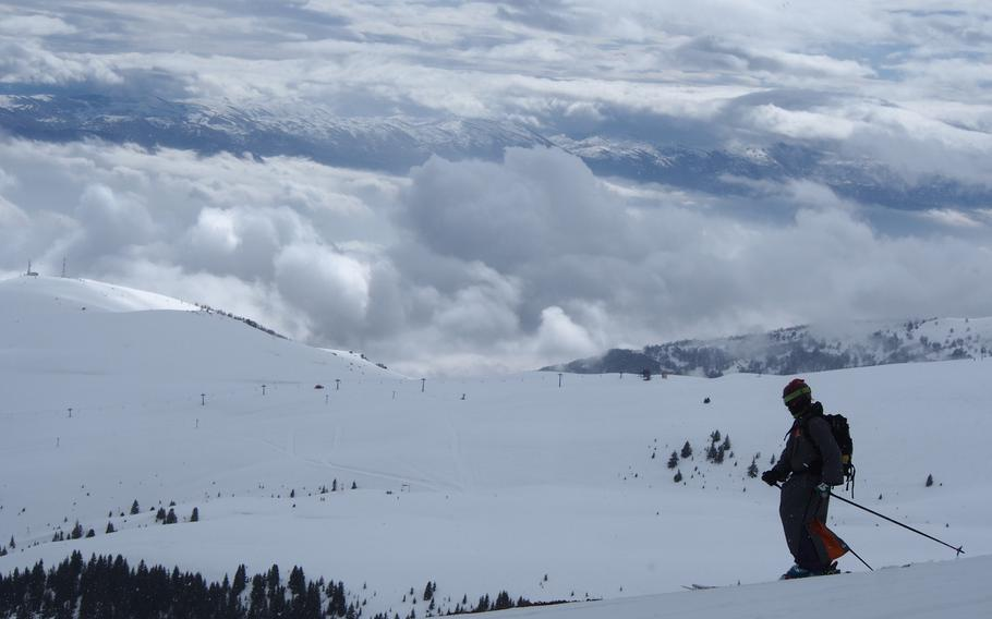 Skiing the backcountry of Macedonia's Shar Planina mountains with Eskimo Freeride, a snowcat operation near the city of Tetovo.