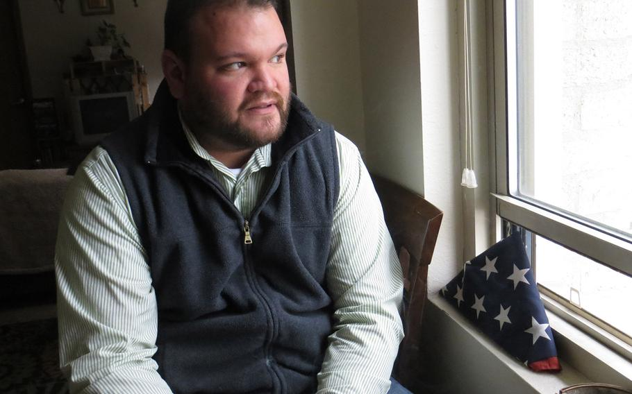 Dave Hammond ended up homeless in Toledo, Ohio, in 2012, seven years after his medical discharge from the Army. He moved into an apartment last fall with the help of Veterans Matter, a Toledo-based nonprofit that pays the rent deposits of homeless veterans.