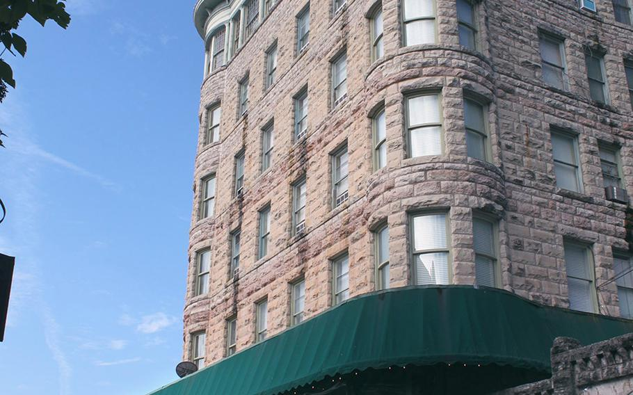 Eureka Springs is home to five historic hotels pre-dating 1906, including Basin Park Hotel in the heart of downtown, surrounded by shops, bars and restaurants, and next to the city park. Aisha Sultan/St. Louis Post-Dispatch/TNS