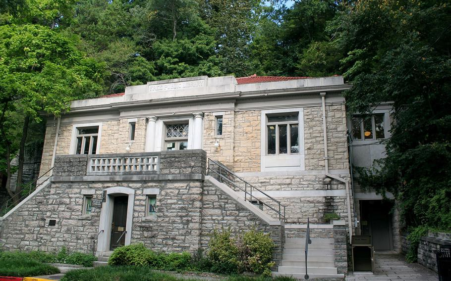 The Eureka Springs Carnegie Public Library is one of four Arkansas library buildings built with funding by Andrew Carnegie. Only two of these Carnegie libraries in the state are still used as public libraries. Aisha Sultan/St. Louis Post-Dispatch/TNS