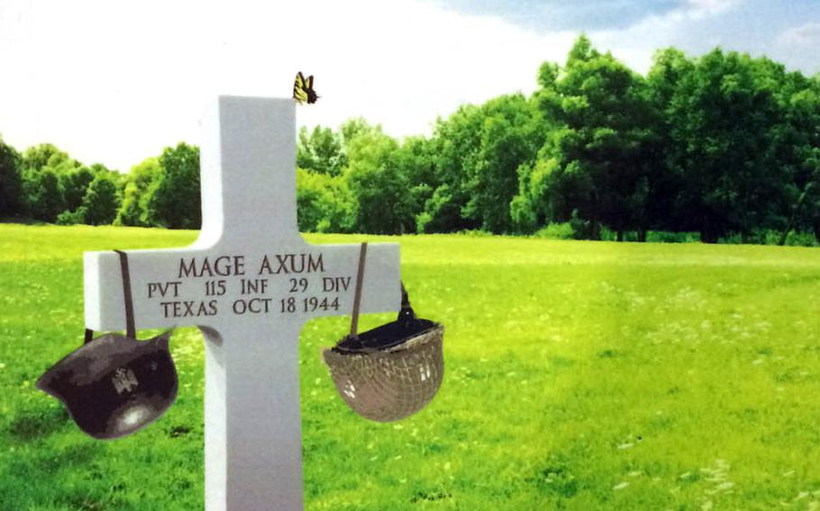 """""""The Reawakening of Mage Axum"""" is in many ways a tribute to the author's great uncle, who died in an attack on a German town in 1944."""