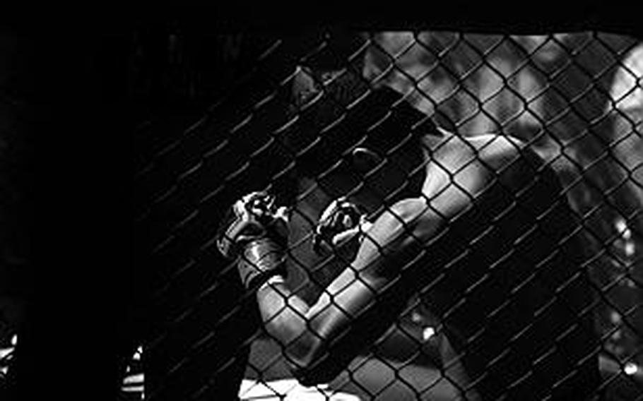 Four MMA fighters are scheduled to meet servicemembers at bases in Europe, beginning Aug. 10, 2017.