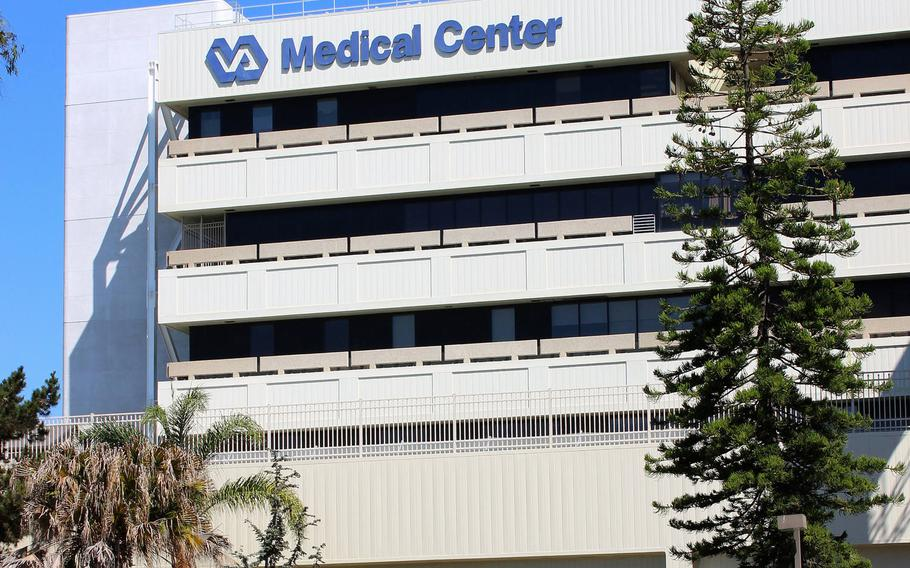 The San Diego Veterans Affairs hospital in La Jolla, Calif.