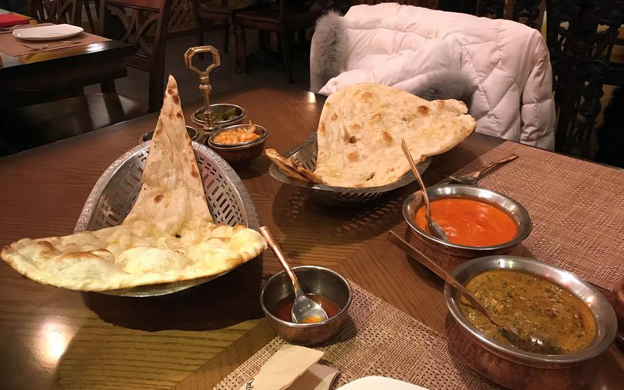 Om near Gwanghwamun Square in Seoul, South Korea, offers a large variety of Indian and Nepali food.