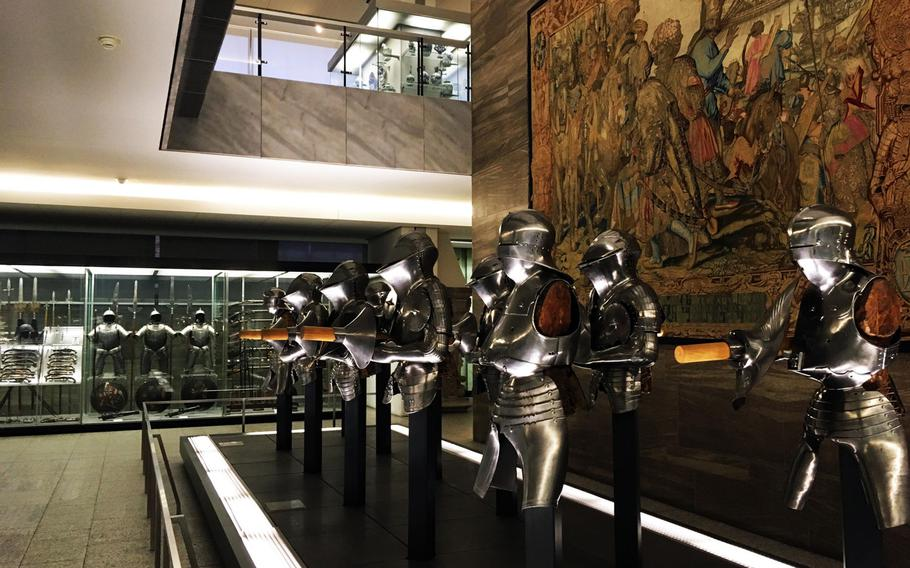 The Germanisches National Museum in Nuremberg, Germany, contains an impressive array of armor.