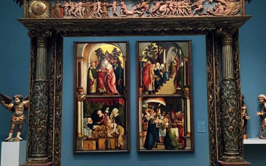 This work of Renaissance art is on display at the Germanisches National Museum in Nuremberg, which is just an hour's drive away from U.S. Army Garrison Bavaria.