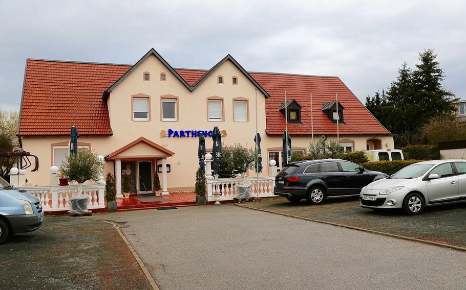 The Parthenon, a Greek restaurant in Otterburg, Germany, offers great food, great ambiance and great service at a great price.