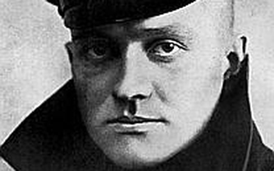 Manfred Freiherr von Richthofen, better known as the Red Baron, Germany's highest decoration for bravery in war.