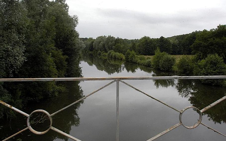 Today the Somme River in northern France is a peaceful paradise for fishermen and watersports. In 1918 it was the location for some of the bloodiest battles of the war between Allied and German forces. Not a single tree was left standing during the battles.