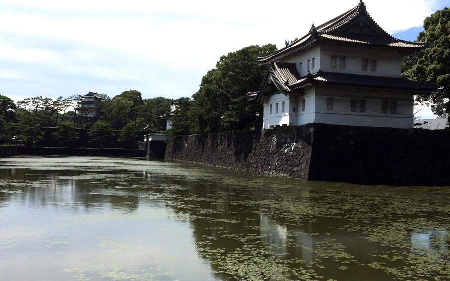 The Sakurada-Niju-Yagura watchtower at Tokyo's Imperial Palace is visible from the outer areas of the grounds. It is the last remaining corner watchtower and is a reconstruction of the original, which was destroyed in 1923 during the Great Kanto earthquake.