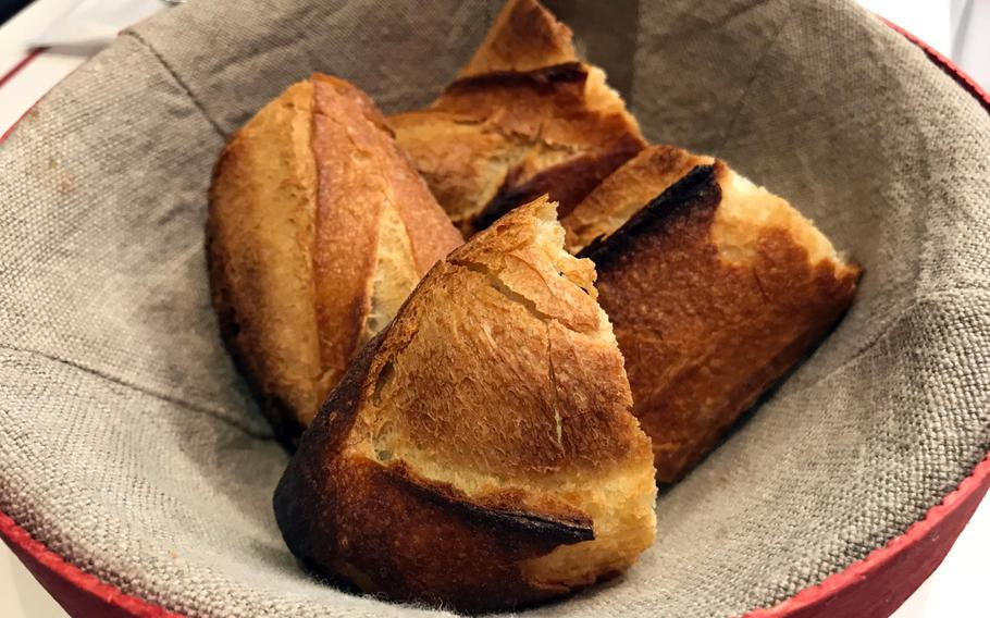 Viron is most famous for its baguettes, which are made with a special type of wheat flour called Retrodor.