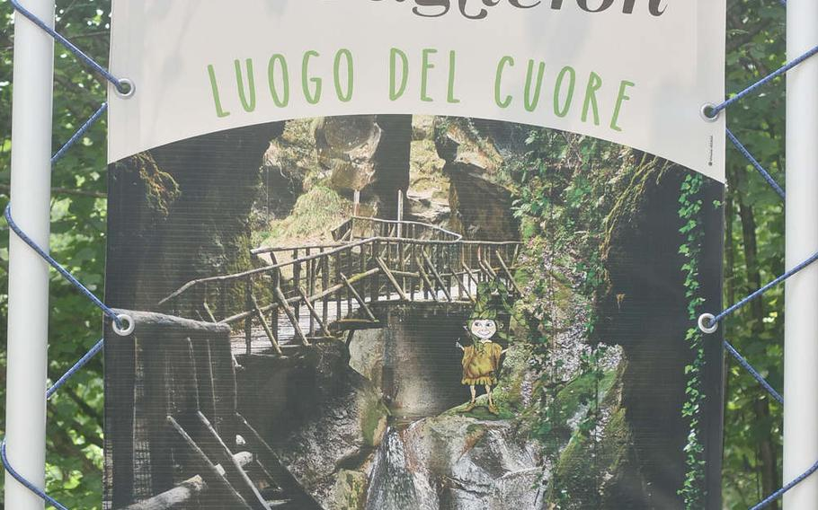 Grotte Caglieron, a part of the Italian national park system, is a short drive to the northwest of Aviano Air Base, Italy. Admission is free.