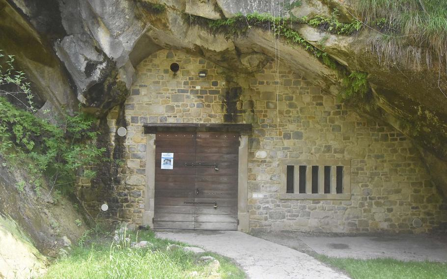 This cave at Grotte Caglieron, generally sealed off from the public, has long been used to age cheese produced from a local consortium.