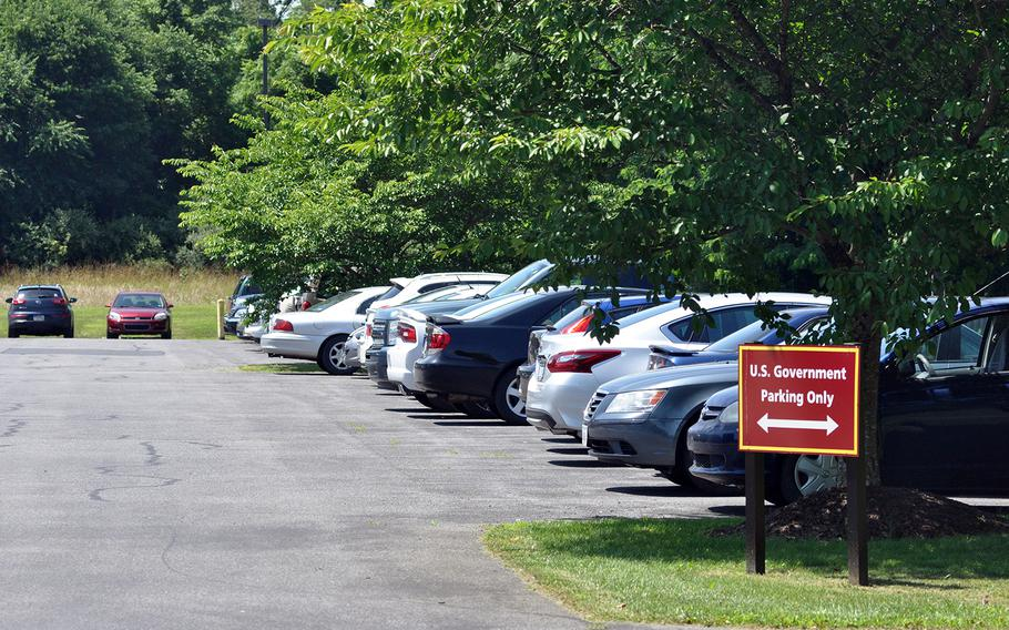 At the White House VA Hotline in Shepherdstown, West Virginia, employees answer calls from veterans seeking help or lodging complaints with the VA. On the morning of Tuesday, June 26, about 70 cars were in the facility's parking lot.