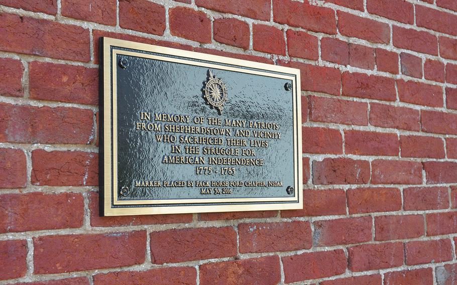 Shepherdstown, West Virginia, home of the new White House VA Hotline, is the state's oldest town. A plaque downtown recognizes the townspeople's participation during the American Revolutionary War. Thirty-eight Revolutionary War veterans are buried in the vicinity, according to the Historic Shepherdstown Museum.
