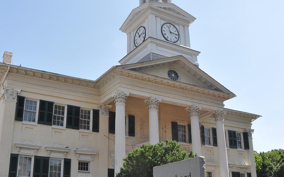 The new White House VA Hotline for veterans' complaints was recently established in Shepherdstown, West Virginia. Much of the small town is dominated by Shepherdstown University, which is the third largest employer in Jefferson County, according to the Jefferson County Development Authority.