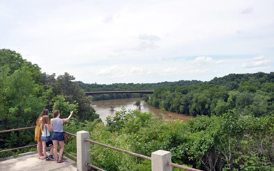 Shepherdstown, home to the new White House VA Hotline, is located along the Potomac River about 70 miles northwest of Washington on the eastern panhandle of West Virginia.