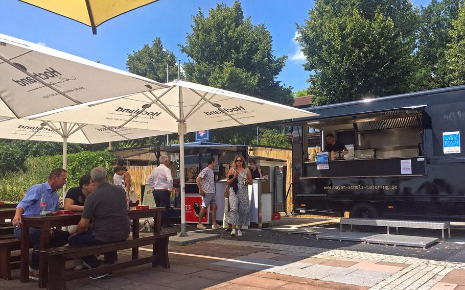 Bellevue Bar and Grill in Stuttgart, Germany, is a new food-truck-style eatery near Killesberg Park.