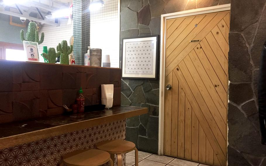 The spirit of Southern California is an obvious presence at Delifucious. Skateboards and cacti decorate the restaurant, while music by the Red Hot Chili Peppers plays on repeat.