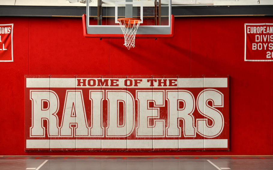 The Kaiserslautern Raiders will have a new home when the new high school opens at the beginning of the school year, and the old gym, site of many exciting KHS victories and heartbreaking losses, will hear high school cheers no more.