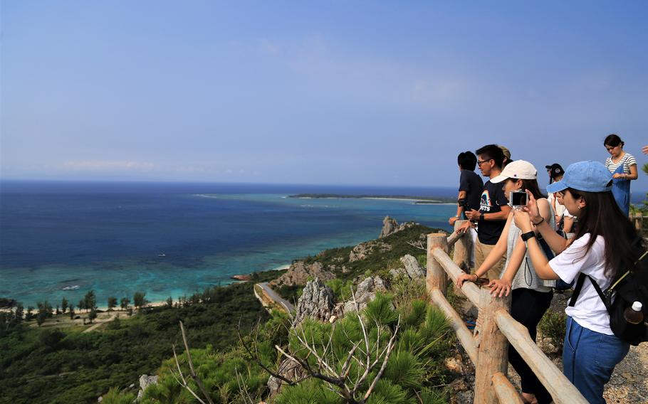 Izena Forest Park offers a breathtaking view of the entire island.