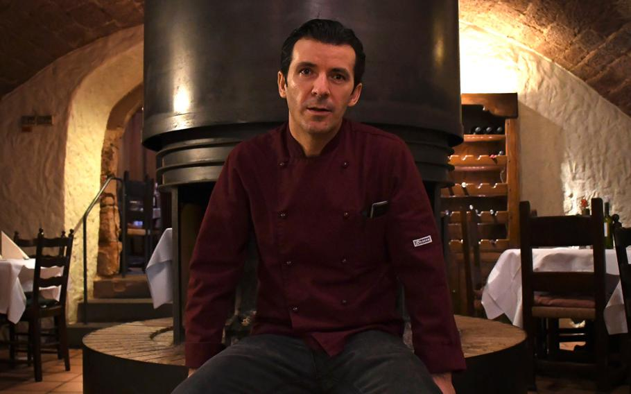 Skendo Shala opened Ristorante Cardinale in Kaiserslautern, Germany, in 2014. Shala says he was drawn to the building that houses the restaurant because of its ambience.