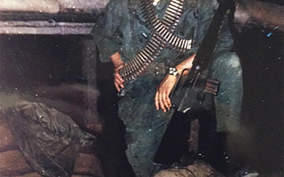 Jim Markson in Vietnam in 1968