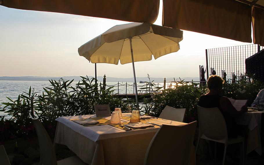 Arcimboldo is one of several lakeside restaurants in  in Sirmione, Italy, and one of the loveliest in a town where it's tough to get a bad meal.