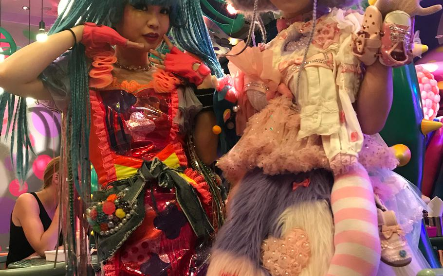 """Kawaii Monster Cafe's staff are described as """"Monster Girls"""" -- each sporting colorful outfits and creative make-up looks inspired by Harajuku street style."""