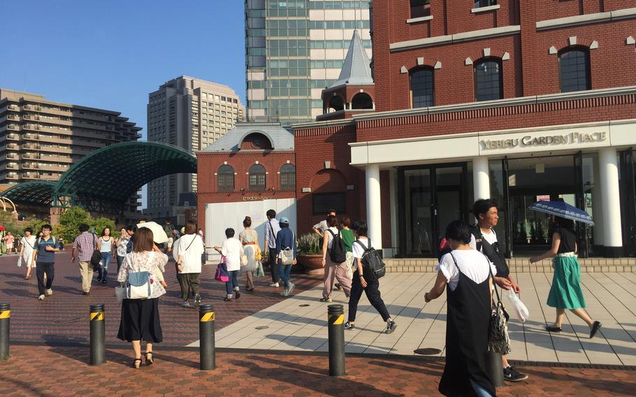 The Museum of Yebisu Beer is located in the Yebisu Garden Place complex -- home to a wide variety of upscale shops and restaurants.
