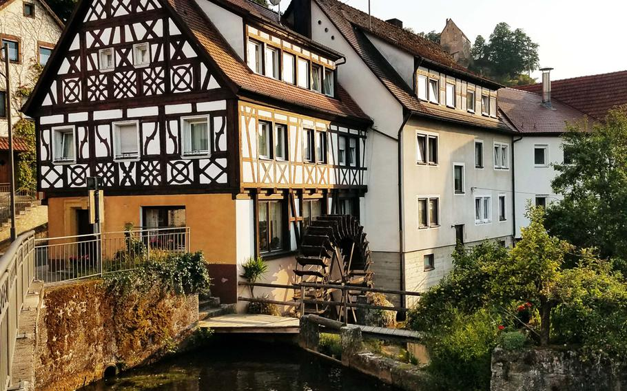 A former mill, now a hotel, in Pottenstein, Germany. The  village has recreational attractions that make it much more than just quaint tourist destination.